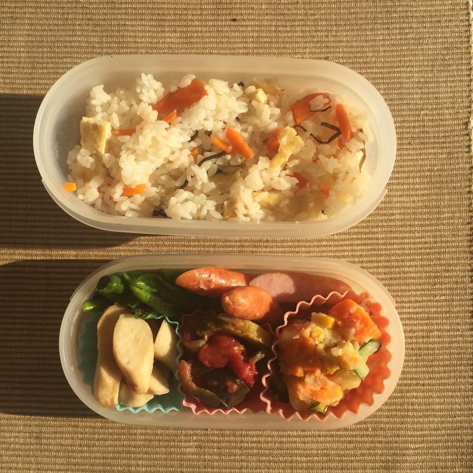 冷蔵庫の定番野菜で、簡単にんじんご飯〜おうちカフェ〜