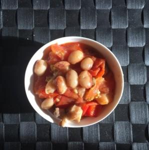 夏野菜バンザイ!お豆とトマトの美味しいコラボ〜おうちカフェ〜
