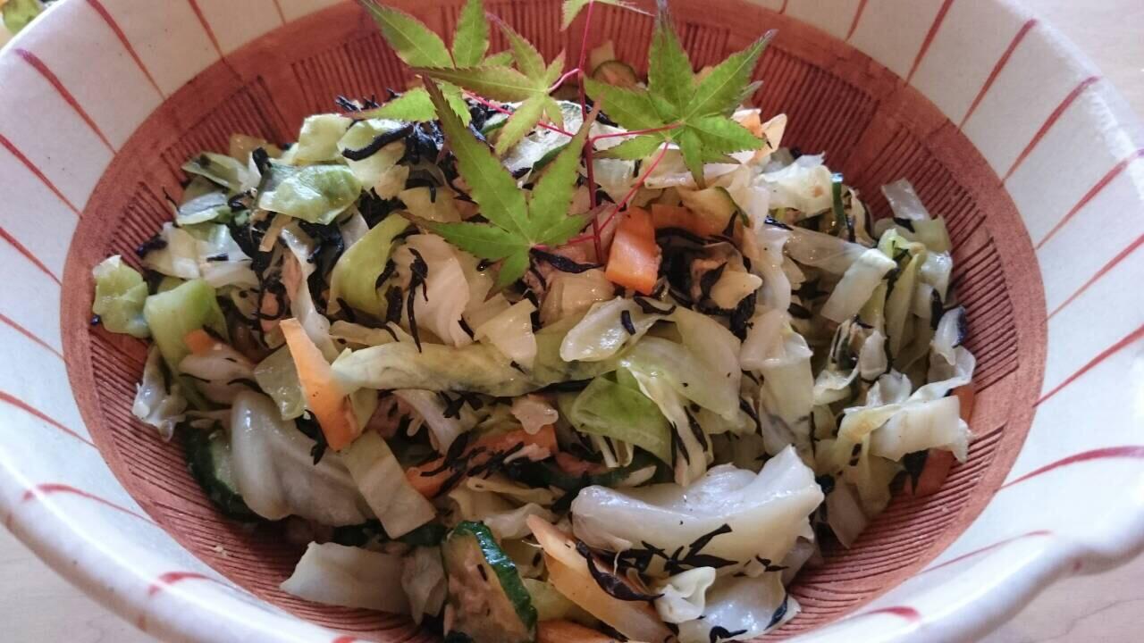 ひじきとシーチキンのサラダ〜おうちカフェ〜