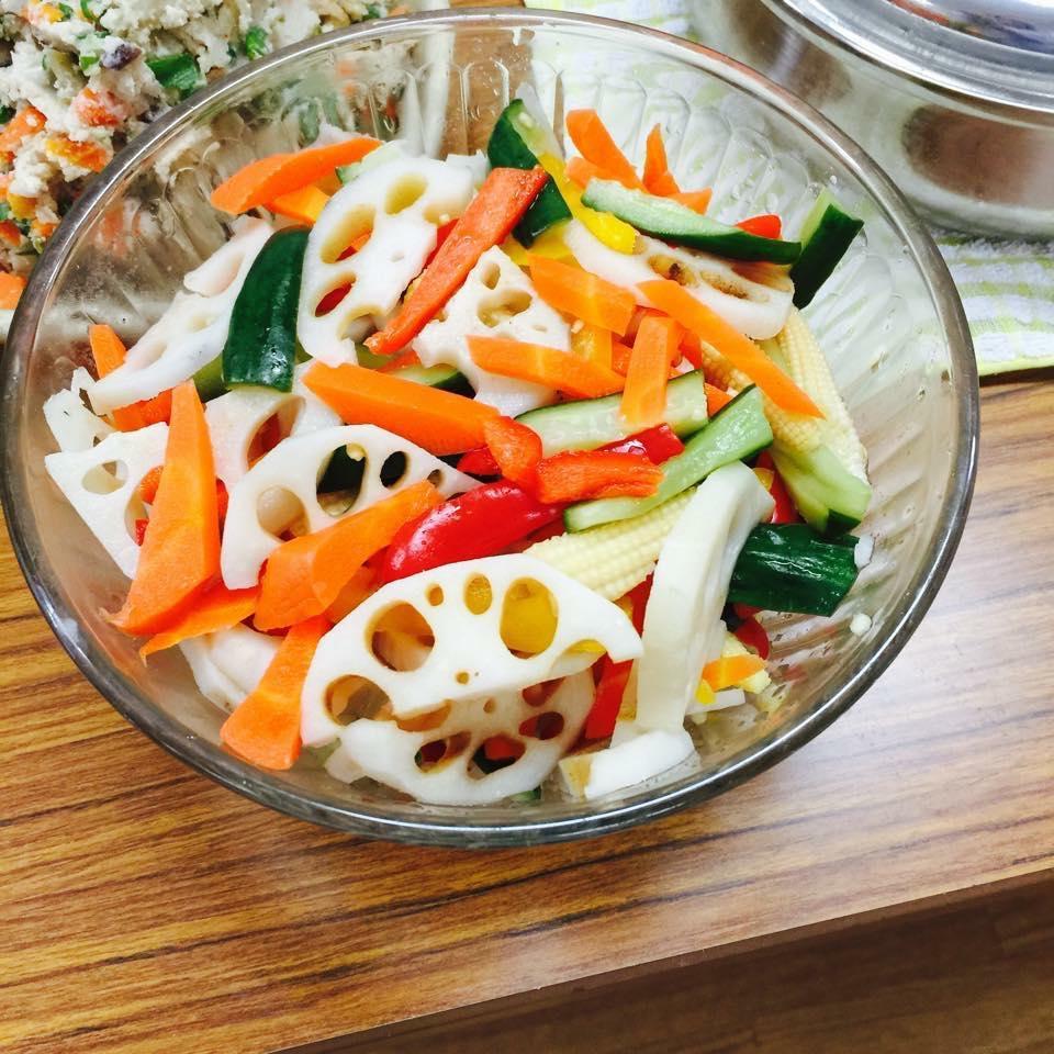 常備菜の定番、そしておもてなしにも使える野菜のピクルス〜おうちカフェ〜