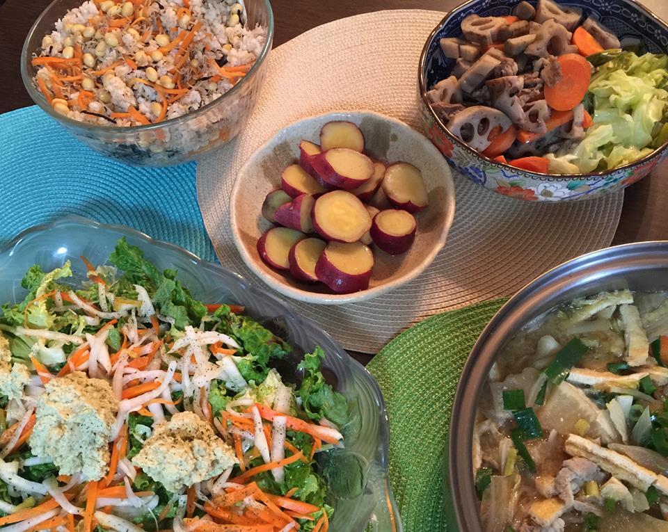 まとめ作りに最適な「蒸し野菜」と「酢つけ」〜おうちカフェ〜