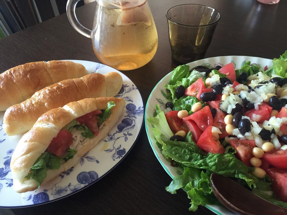 サンドイッチでも、サラダでも!美味しすぎる鳥ハム〜おうちカフェ〜