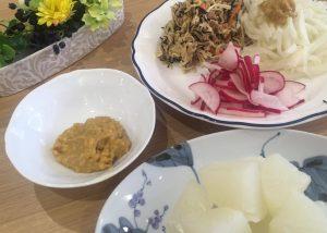 柚子味噌×大根の名コンビ〜おうちカフェ〜