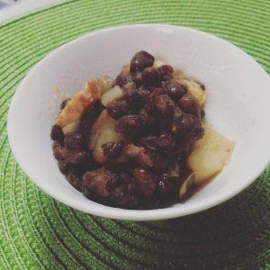 小豆とジャガイモのほっこりスープ〜おうちカフェ〜