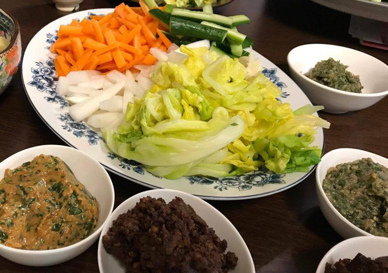 おかず味噌と野菜スティック〜おうちカフェ〜