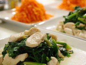 ほうれん草と鶏胸肉の炒め物〜ワーキングマザーのレシピ