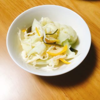 カリフラワーのマリネ〜おうちカフェ〜