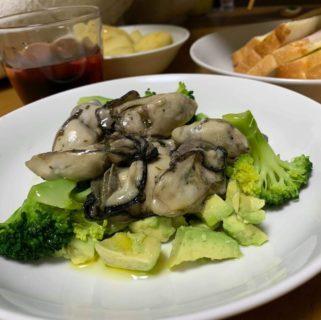 牡蠣のホットサラダ~おうちカフェ~