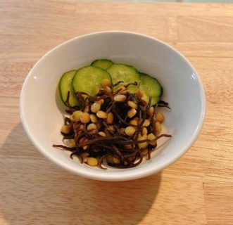 レンズ豆とひじきのサラダ~おうちカフェ~